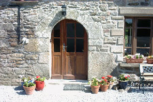 holiday let in Brittany with far reaching views