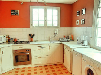 country gite in Brittany with very well equipped kitchen